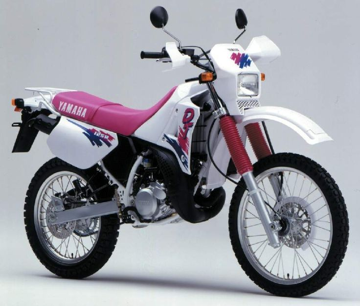 Yamaha DT 125R, 1990, my first ever motorbike :)