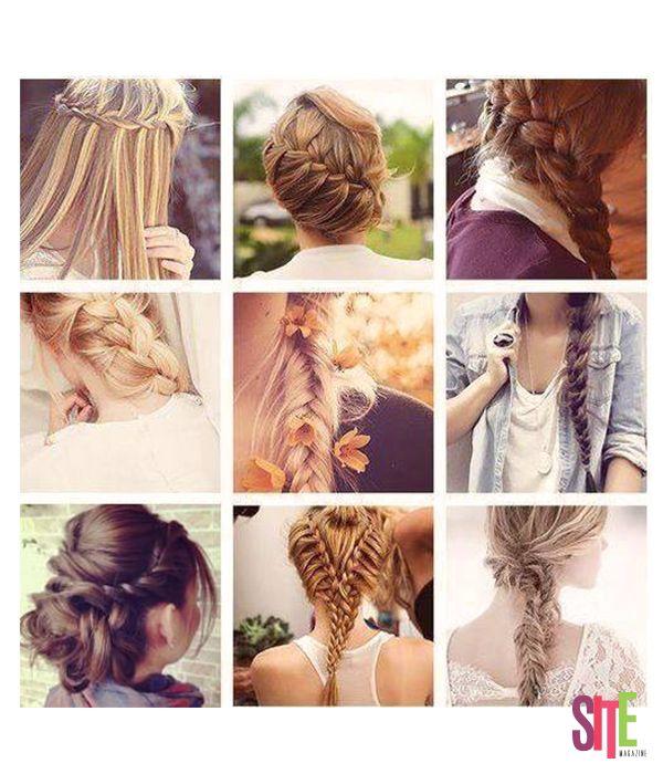¿Fanática de las #trenzas? ¡Mira estos hermosos peinados con trenzas  #consejos #sitemagazine
