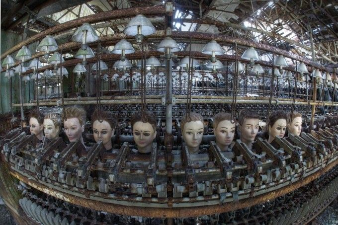 Fábrica de muñecas abandonada.  Segorve (Castellón)