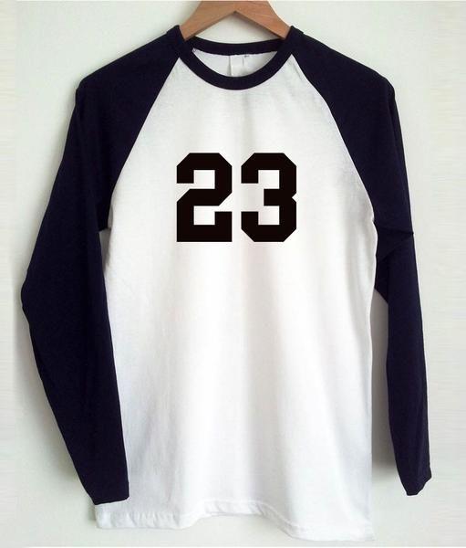 23 raglan longsleeve t shirt