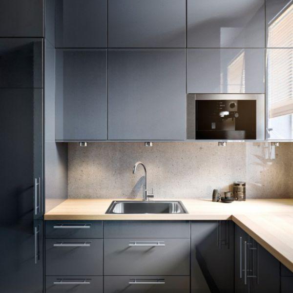 gabinetes cocina minimalista