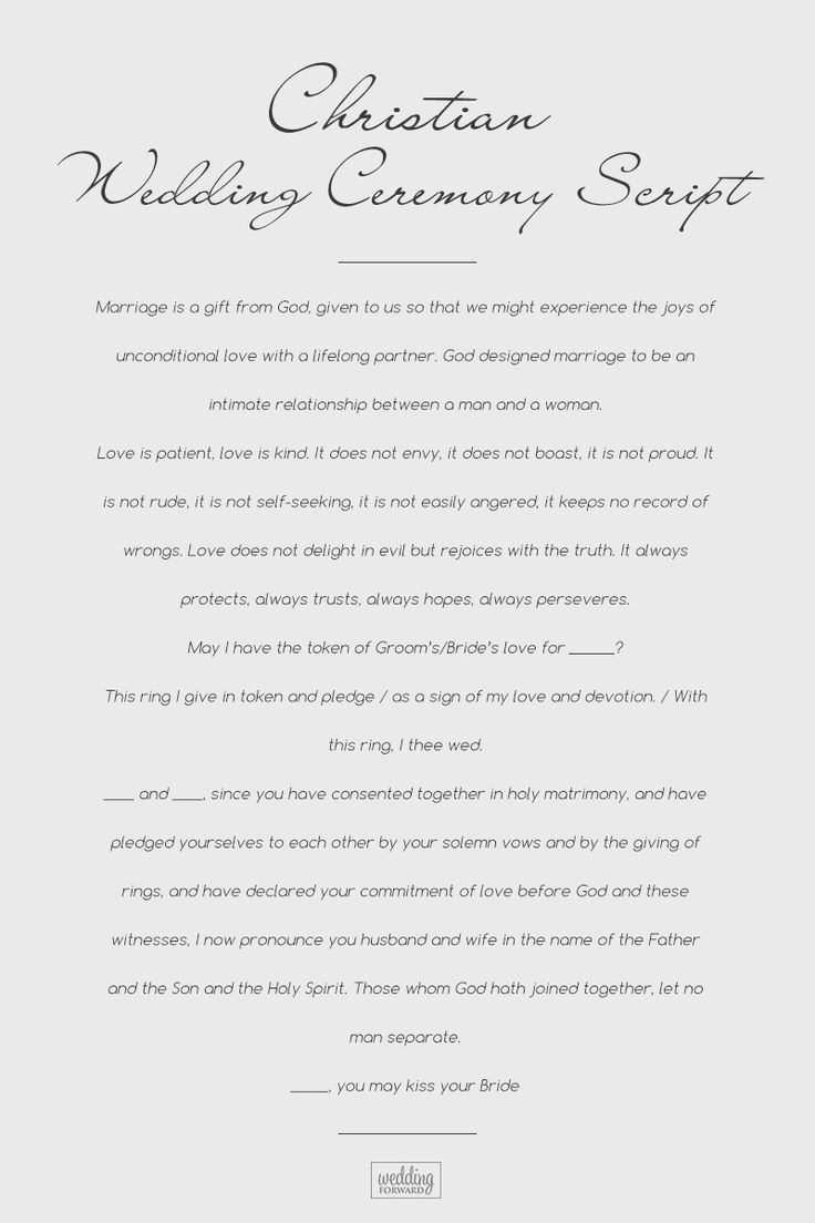 Sample Wedding Ceremony Scripts You Can Borrow For 2021 Wedding Ceremony Script Wedding Script Wedding Ceremony Script Christian