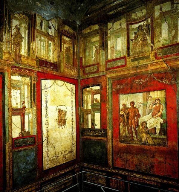 Casa de Vettii, Pompeya.