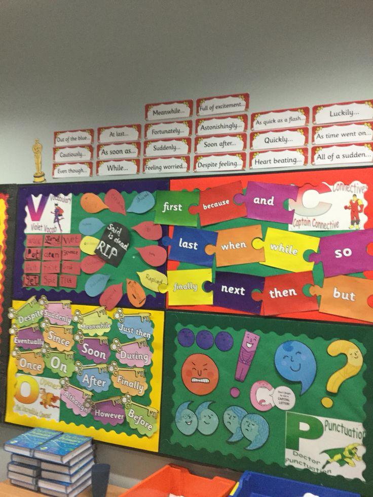 Vcop display | school stuff | Pinterest | Literacy display ...