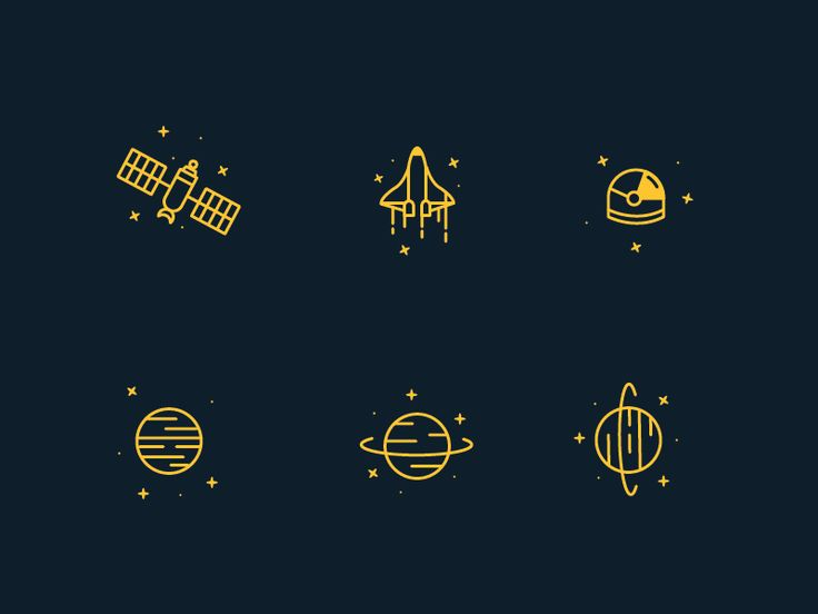 Space Icons by Michael Powers