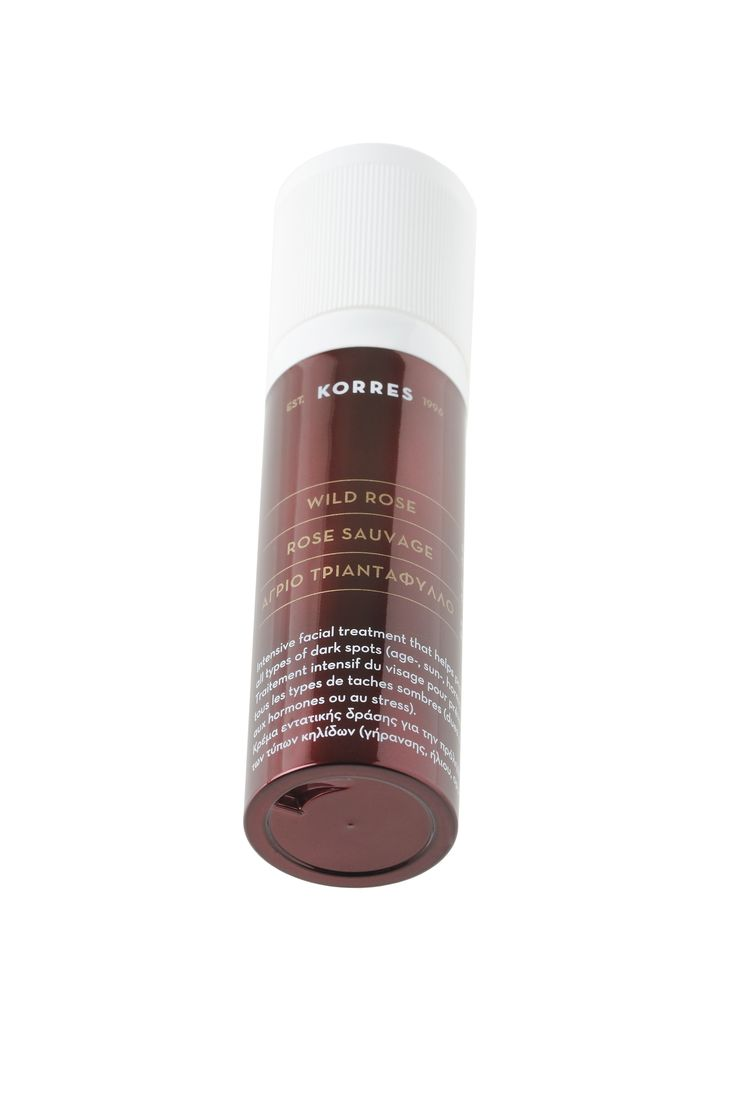 Wild Rose & Vitamin C Dark Spot Correcting Treatment #korres_skincare #wildrose