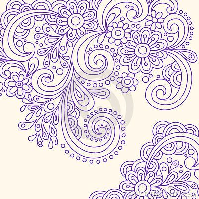doodle henna abstract swirls vector i need new clothes pinterest hennas doodles and. Black Bedroom Furniture Sets. Home Design Ideas