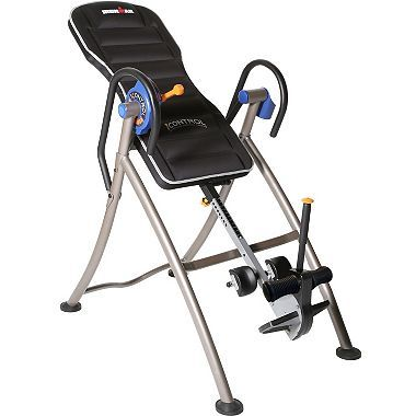 Ironman iControl 600 Weight Extended Disk Brake System Inversion Table with ?Air Tech? Backrest