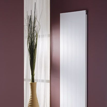MHS Radiators Matrix vertical: starts at only 7cm wide so can fit into very narrow spaces. Especially good near a front door.
