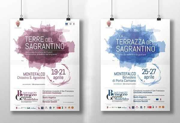 #Montefalco e #Sagrantino: un evento di Aprile 2014 | Grafica Creativi Associati