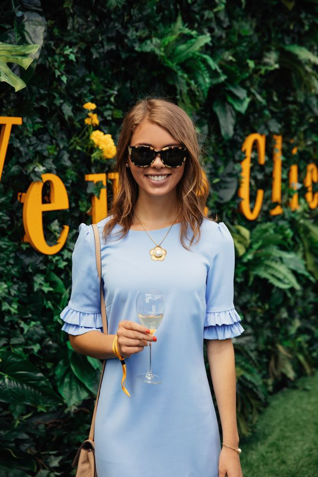 Sophie Shoelover 10th Anniversary Veuve Cliquot Polo Classic Champagne Liberty State Park New York City 2017