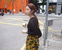 yellow flower sk (재입고)