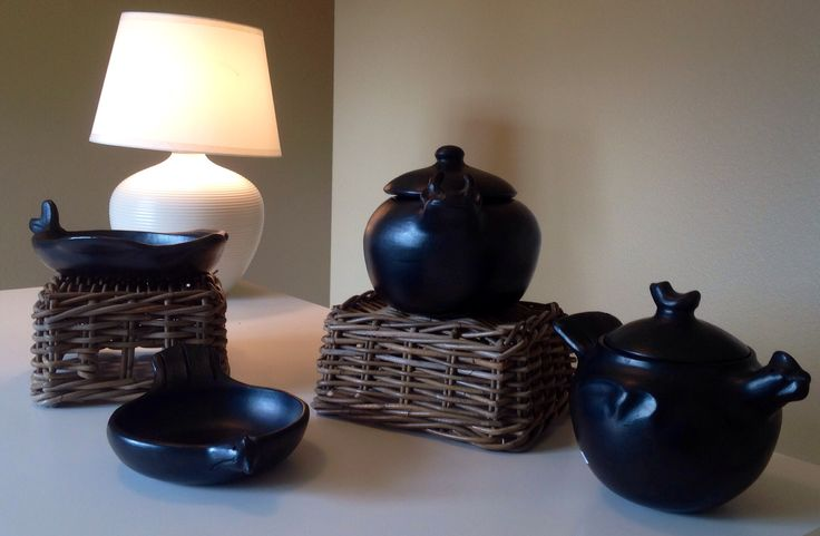 Handmade cookware. Get ready for Christmas presents.