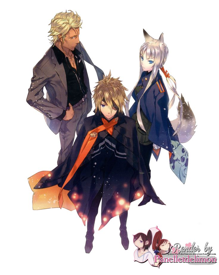 Render: Tokyo ravens - Tsuchimikado and co. by Panelletdelimon.deviantart.com on @deviantART