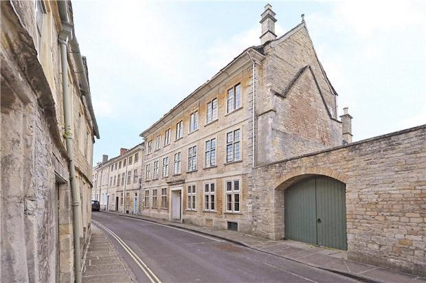 Cirencester town house.