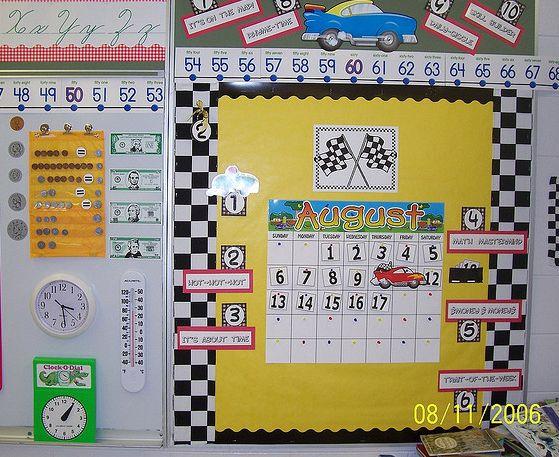 Race Car Classroom Decorations