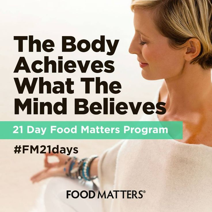 We see so many programs online now.. get abs, get a bikini body, detox, but no program to get you really healthy... Body & mind! Start your transformation with the new 21 Day Food Matters Program on FMTV!  Meal plans, shopping lists, daily yoga and meditation classes, guided video instruction & 24 hour live chat support. Start anytime. Cancel anytime. Specials end midnight Sunday! http://bit.ly/FM-21-Day-Program