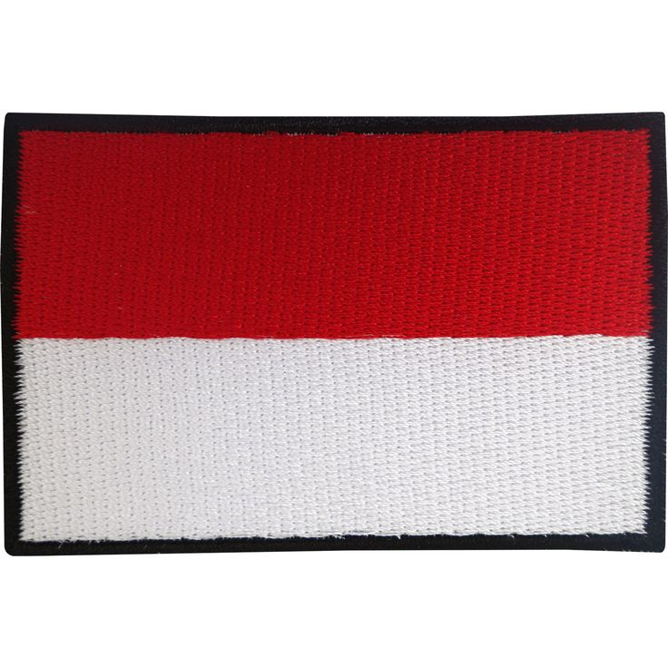 Indonesia flag #patch iron on #badge / sew on #indonesian flag embroidered appliq,  View more on the LINK: http://www.zeppy.io/product/gb/2/331784113662/