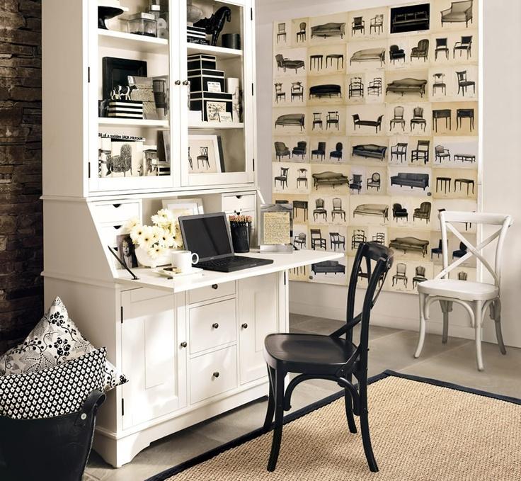 Cute Small Home Office Office Ideas Pinterest