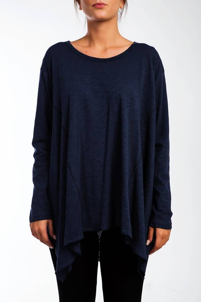 Moutaki μπλούζα ασύμμετρη
