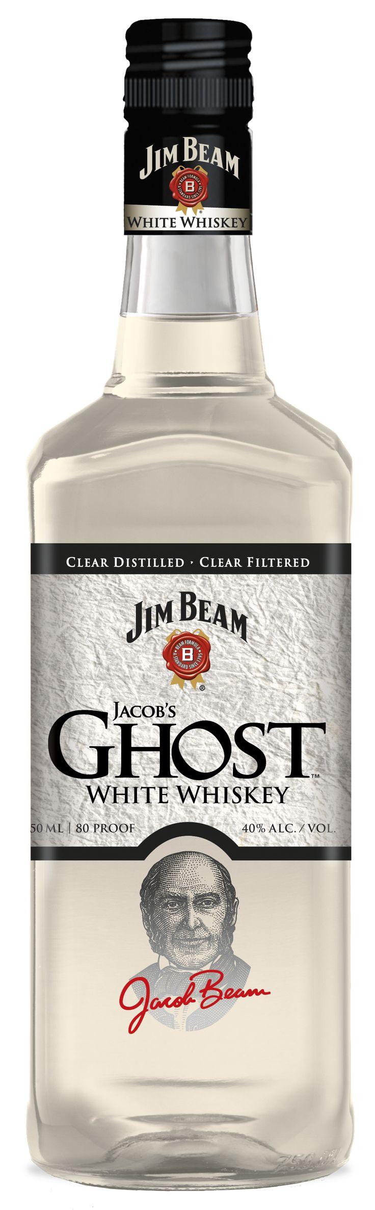 Jim Beam, Jacobs Ghost white whiskey (Whiskey Bottle)
