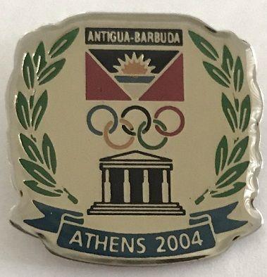 Antigua and Barbuda NOC Olympic Team PIN - Athens 2004