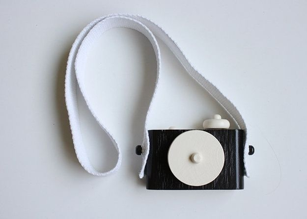 Wooden Toy Camera   34 Gifts For The Coolest Baby You Know