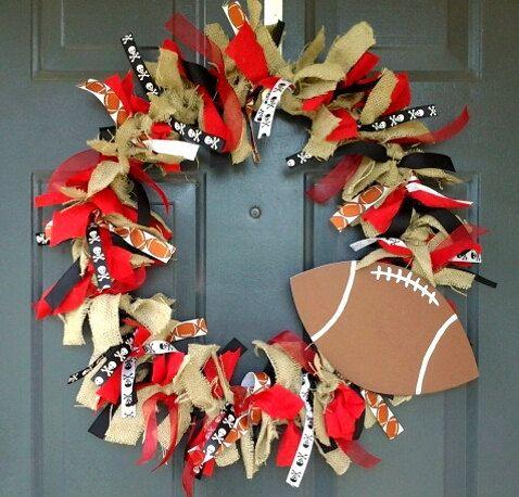 Custom Wreath Your Team High School Football, Volleyball, Cheer, Baseball, Soccer, Basketball, Band mom pride