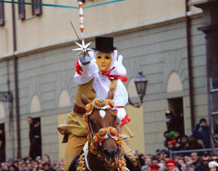 """Sardegna: Inizia la """"Sa Sartiglia 2014″ a Oristano"""