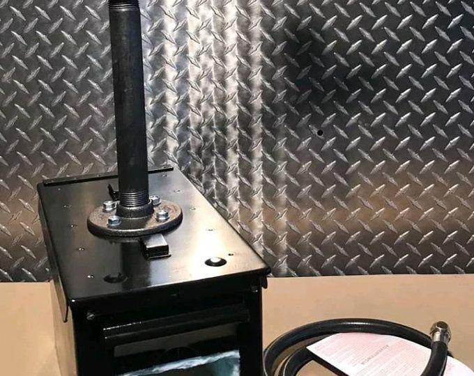 Propane Forge Knife Making Blacksmith Gas Forge Farriers Furnace Hfmax U S A In 2020 Propane Forge Propane Ceramic Fiber Blanket