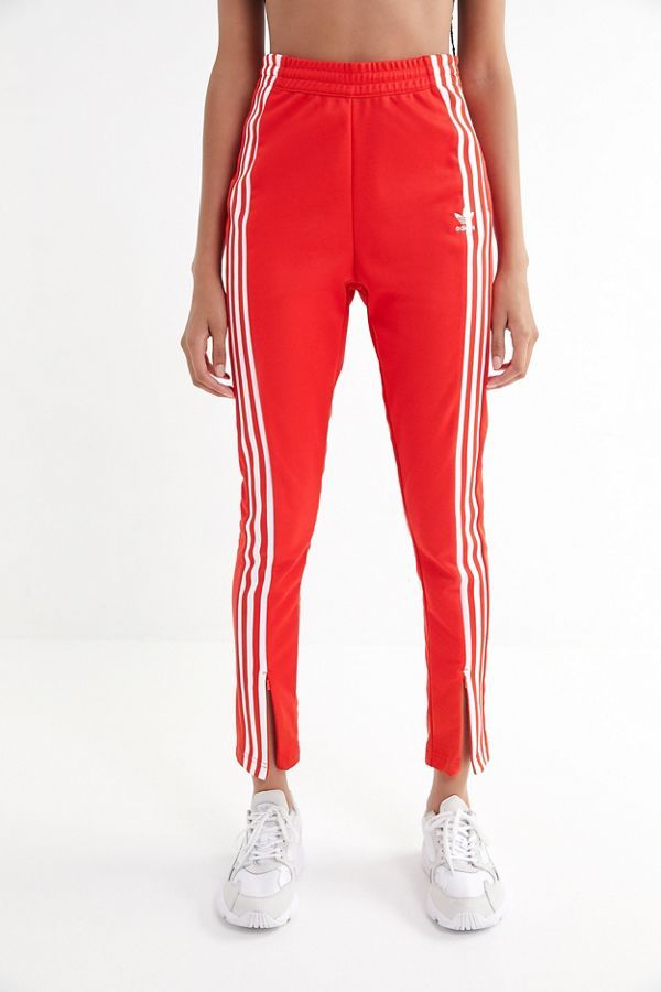 adidas High Rise Split Ankle Track Pant   Adidas high