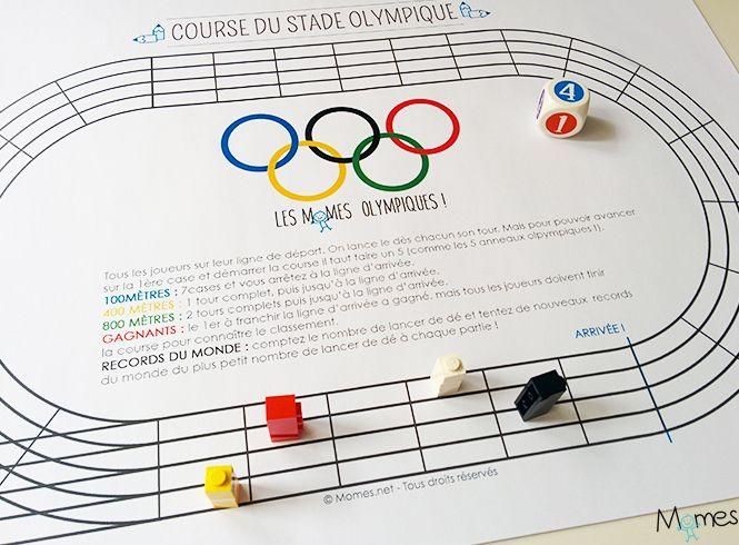 idées jeux olympiques enfant
