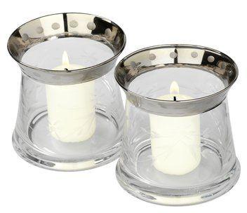 Värmeljushållare EMMELIE Ø10xH9 2st/pk #inredning #ljus http://jysk.se/inredning/dekoration/ljusstakar/varmeljushallare-emmelie-o10xh9-2st-pk