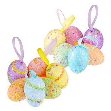 Easter Hanging Decorations 6 Pack #PoundlandEaster