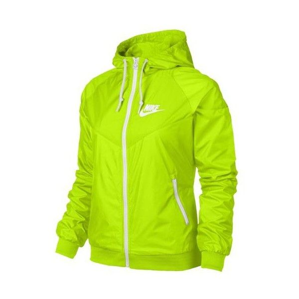 Nike Windrunner Jacket Women's ($95) ❤ liked on Polyvore featuring activewear, activewear jackets, hoodies, jackets, nike activewear, nike and nike sportswear
