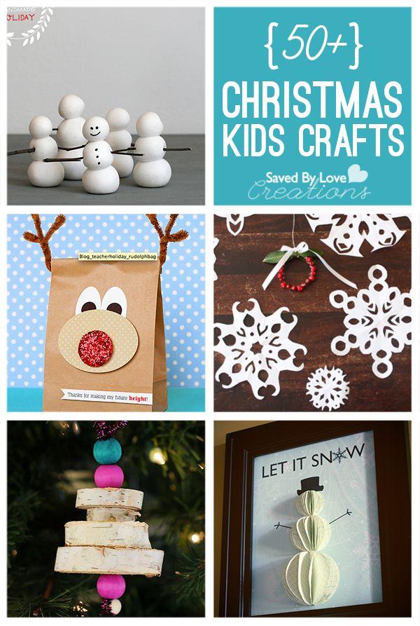 50 Plus Christmas Kid's Crafts to Make