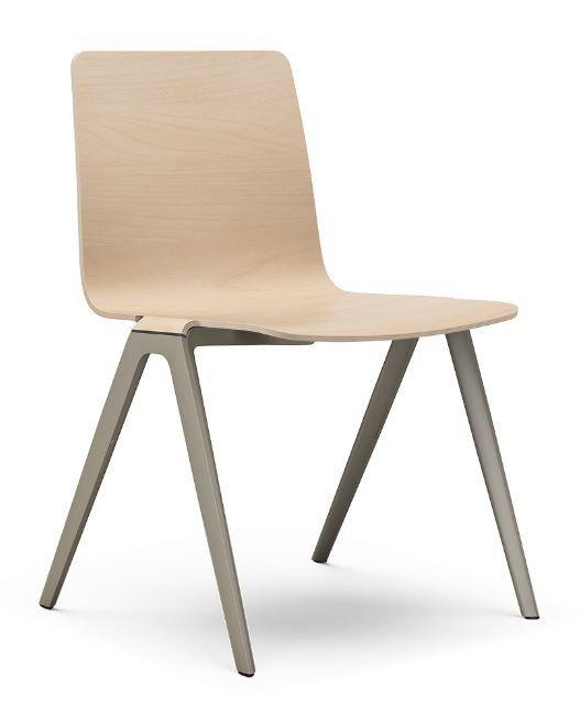 """Jetzt bei Desigano.com A-Chair Holzschale Gestell Kunststoff Stühle, Konferenzstühle von Brunner ab Euro 334,00 € https://www.desigano.com/stuehle/3044-a-chair.html  Elegant und einzigartig – das sind die wesentlichen Designmerkmaledes A-Chair.Betrachtet man ihn von der Seite, ähnelt seine Silhouetteeinem """"A"""", deshalb derName. In derReihung zeigen sie dieStärke lediglich eines einzigen Beines, was die Gesamtansichtenormberuhigt.A-Chair lenkt nicht von der Architektur ab, auch…"""