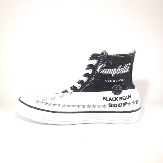 One of the limited edition Converse sneakers made for the Andy Warhol limited edition collection. A must have!