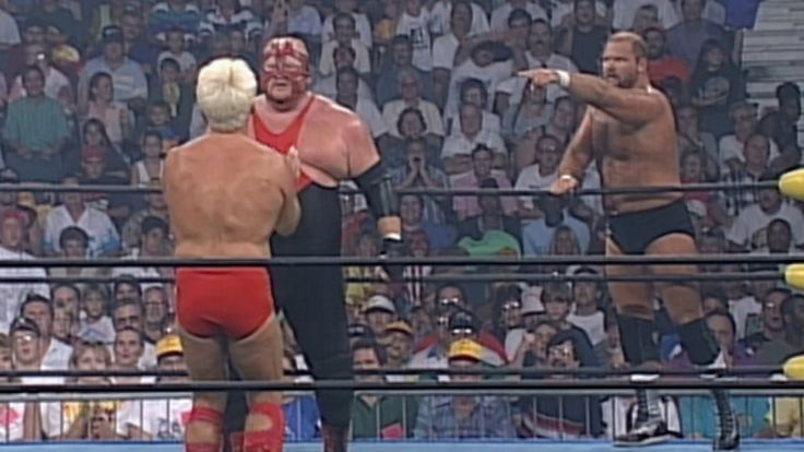 Vader vs. Arn Anderson & Ric Flair - Handicap Match: Clash of the Champi...
