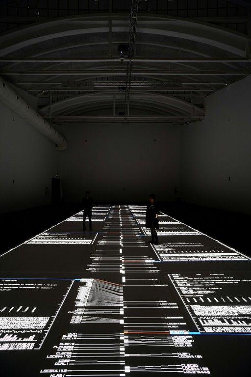 Ryoji Ikeda. Datamatics — LABoral Centro de Arte y Creación Industrial