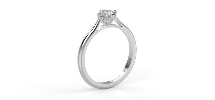 Mira Platinum Diamond ring