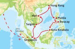 Krydstogt guide del 2. – Destinationer – Eventyrrejser, krydstogter i Asien