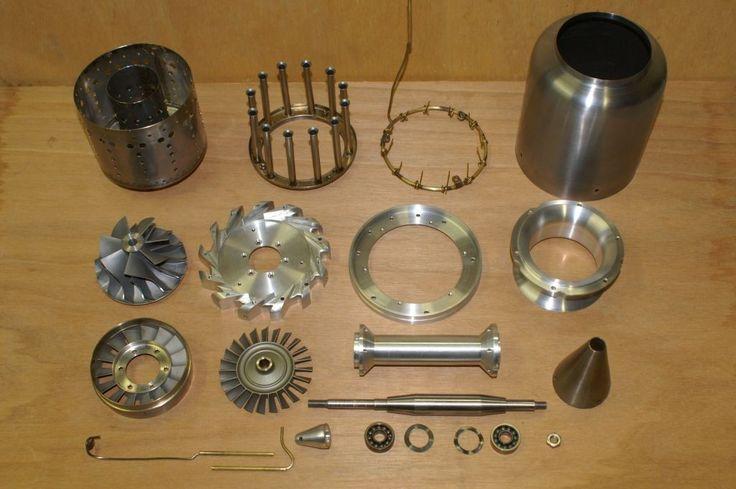HomemadeTurbo Jet Engine Motor caseiro FD3 escala 2