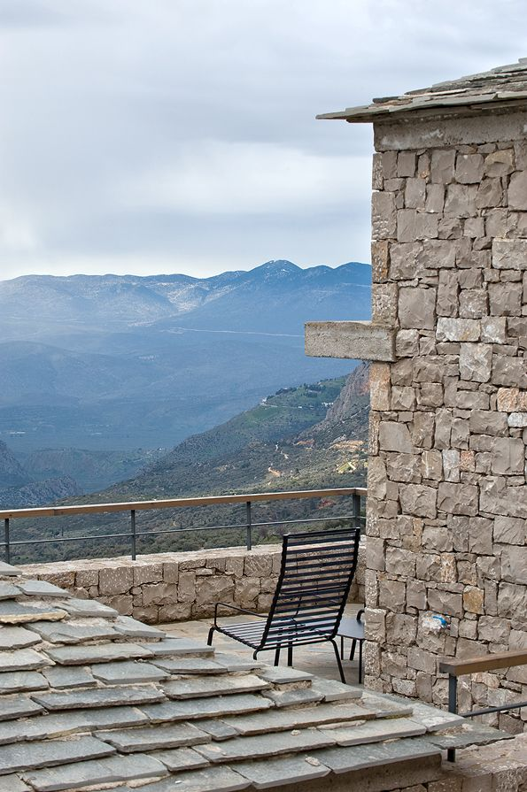 Harmonically situated in the #Delphic landscape  #Arahova #Greece