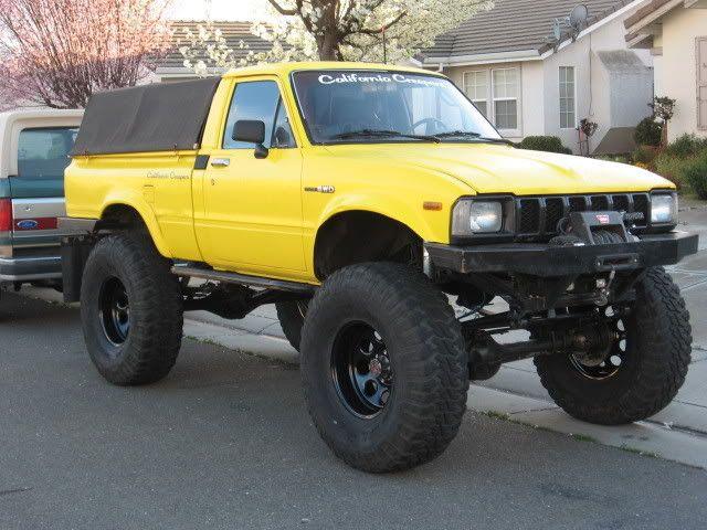 Built Toyota 1st Gen. PU