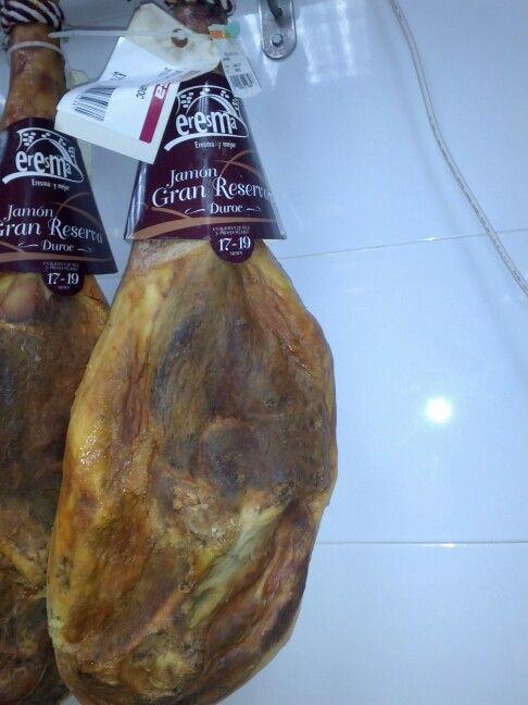Jamón duroc mezcla iberico y blanco muy grandes y ricos 10.99€/kg