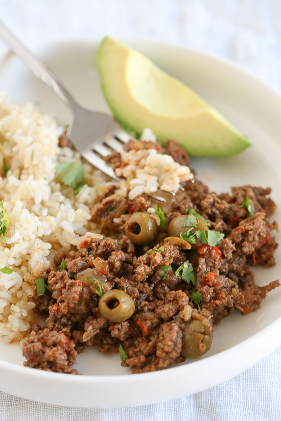 Gina says this Cuban Picadillo is a dish the whole family will love and if you eat this over cauliflower rice it's a great low-carb meal! And you can make this tasty easy dinner in the slow cooker, Instant Pot, or on the stovetop; take your pick! Click here to see all the Beef Recipes...Click to continue reading...