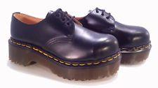 💥 Dr. Martens Doc England Rare Vintage Black Steel Toe Envy UK 3 US 5 💥