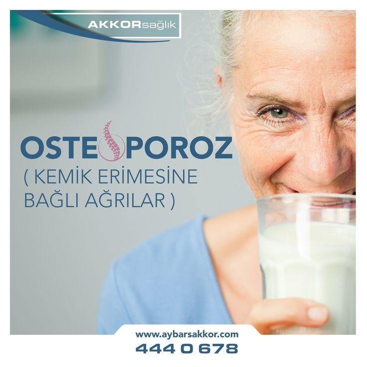 Osteoporoz (Kemik Erimesine Bağlı Ağrılar)