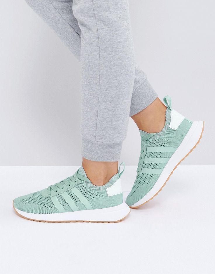 adidas Originals FLB Mid Winter Sneaker In Sage Green - Green